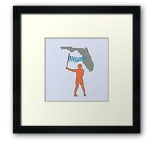 the new hit leader Framed Print