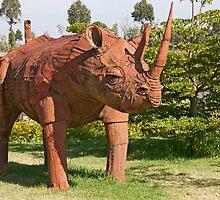 Rusty Rhino by phil decocco