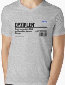 Dyziplen Mens V-Neck T-Shirt