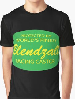 Biker - Blendzall Racing Oil Graphic T-Shirt
