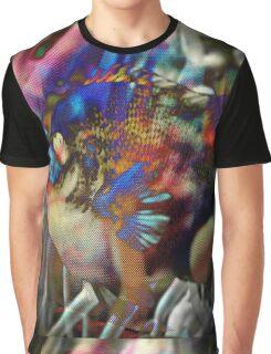 4564 Fish and Anemone Graphic T-Shirt