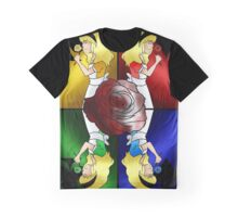 Alice in Wonderland: The Four Cards Graphic T-Shirt