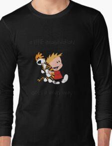 Imagination - Calvin and Hobbes Long Sleeve T-Shirt
