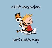 Imagination - Calvin and Hobbes Unisex T-Shirt