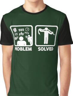 Funny Snakes Problem Solved Graphic T-Shirt