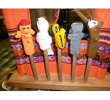 *Finger Puppets - Creswick Knitting Mills* Photographic Print