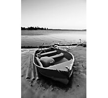 Boat in the Winter Photographic Print