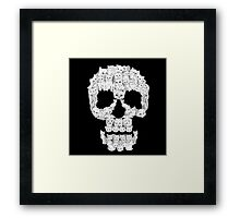 Skulls are for Pussies Framed Print