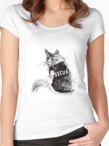 Security Women's Fitted Scoop T-Shirt