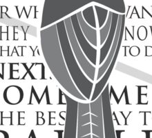 Baelish Sigil - Quote Sticker