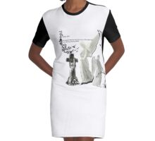 Angel of the Lord Graphic T-Shirt Dress