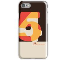 Modernist FortyFive iPhone Case/Skin
