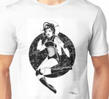 Space Pin Up Unisex T-Shirt