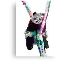 Psychedelic Pandas Metal Print
