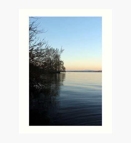 Lake Washington Art Print
