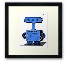 Cute Robot   Framed Print