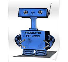 Cute Robot   Poster