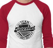 Team Internet - Since 1969 Men's Baseball ¾ T-Shirt