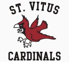 St Vitus Cardinals Basketball Team by hanelyn