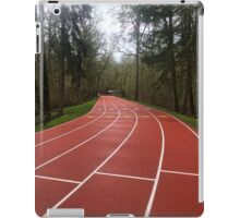 Track in forest  iPad Case/Skin