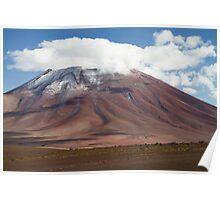 Juriques volcano Poster