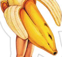 Fruit Stand - Banana Girl Sticker
