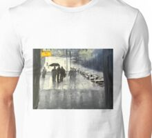 Rainy City Street Unisex T-Shirt