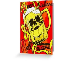 Drinkers  Greeting Card