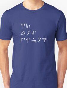 Zu'u los dinok - I am Death Unisex T-Shirt