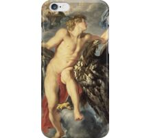 Peter Paul Rubens - The Kidnapping Of Ganymede. Man portrait: young man, sexy, male,  beauty, lovers, Zeus, boyfriend, shepherd, eagle, sexy man, heaven iPhone Case/Skin