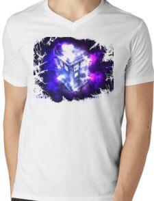 Doctor who tardis  Mens V-Neck T-Shirt