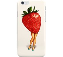 Fruit Stand - Strawberry Girl iPhone Case/Skin