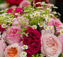 Peonies at the RHS Chelsea Flower Show by Keith Larby