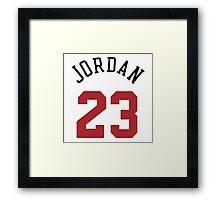 Jordan 23 Framed Print