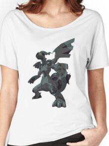 Pokemon Black And White Women's Relaxed Fit T-Shirt