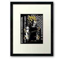 Vegeta Super Saiyan Framed Print