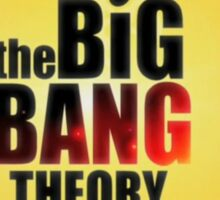 Big bang theory serie Sticker