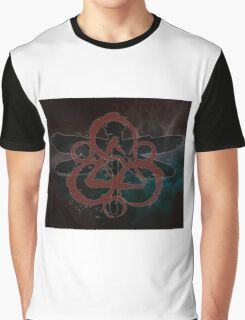 COHEED & CAMBRIA DRAGON FLY SYMBOL NEW Graphic T-Shirt