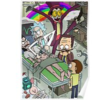 Rick and Morty meet Superjail Poster