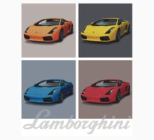 Lamborghini Gallardo T-shirt - 1 One Piece - Short Sleeve