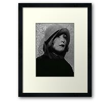 The Greta Garbo Tattoo Framed Print