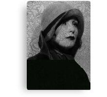 The Greta Garbo Tattoo Canvas Print
