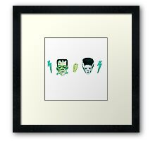 Frank and Bride Framed Print