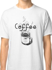 Coffee cup  Classic T-Shirt
