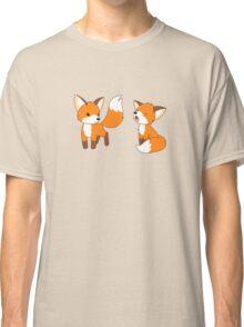 Cute Little Foxes Classic T-Shirt
