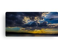 Capital Sunset Canvas Print