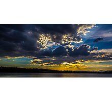 Capital Sunset Photographic Print