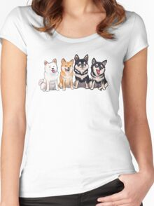 Shiba Squad Women's Fitted Scoop T-Shirt