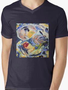 Fusions Mens V-Neck T-Shirt