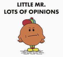 Mr Lots of Opinions Kids Tee